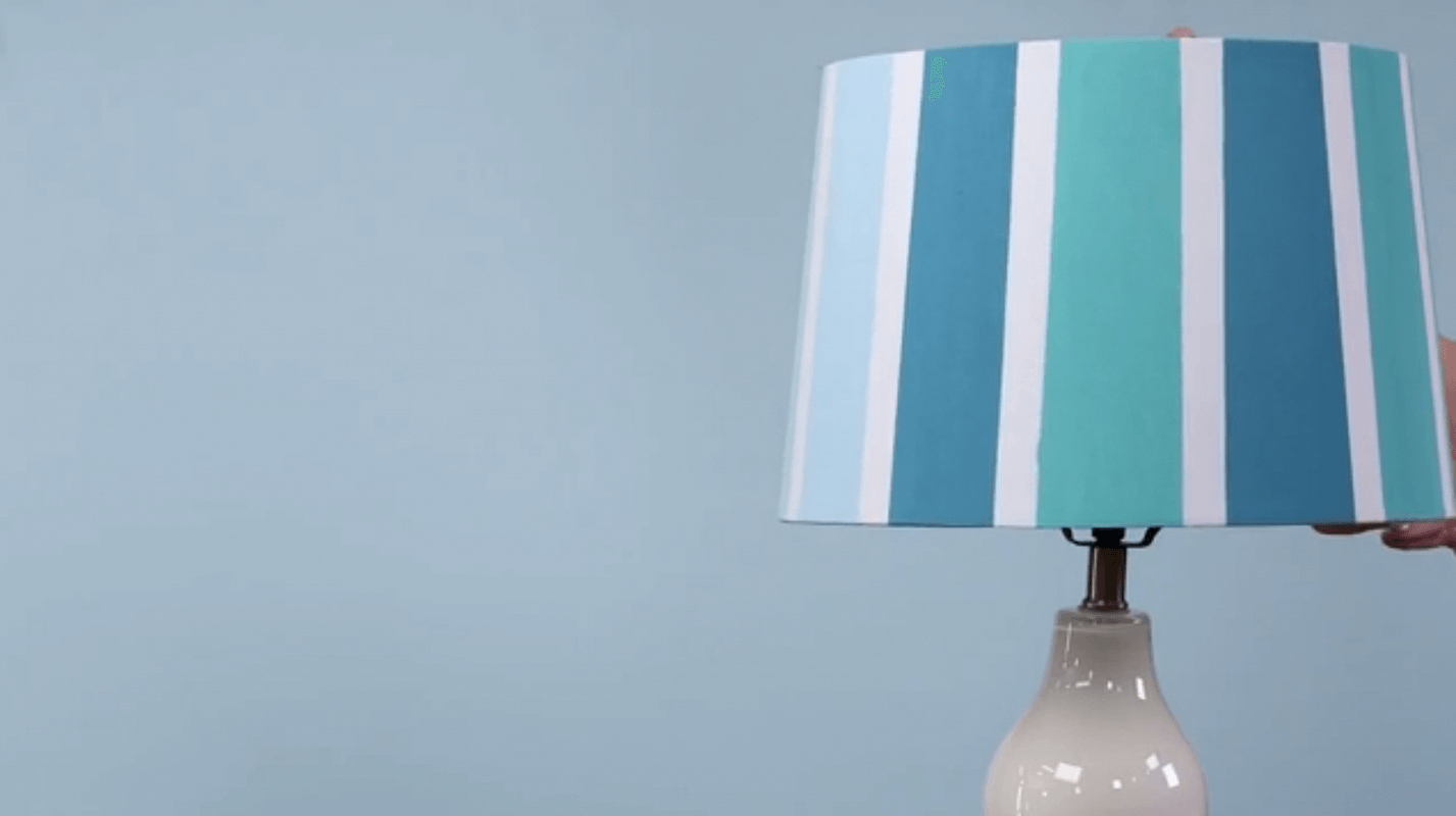 Brighten Your Room with Painted Lampshades